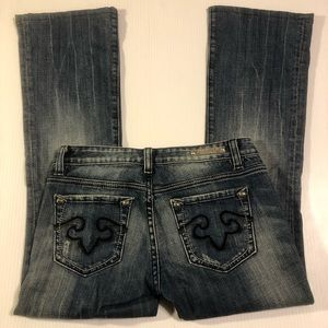 ReRock for Express Boot Cut Jeans, Size 2S
